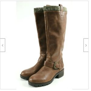 Mossimo NWOB Women's Tall Boots Size 6 Leather